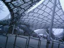 Munich Olympiapark's architecture