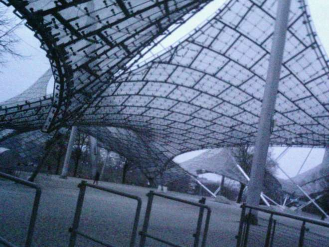 Munich Olympiapark's architecture